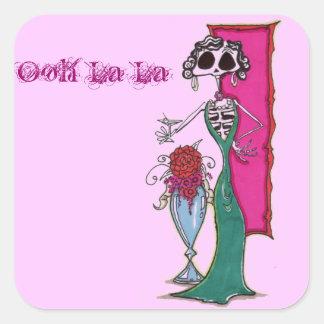 Dia De los muertos madam Stickers