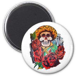 dia de los muertos magnet