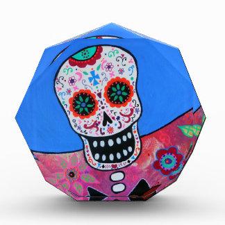 Dia de los Muertos Mariachi Acrylic Award