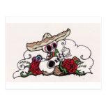 Dia de los Muertos mariachi Post Cards