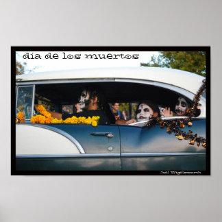 Dia de los Muertos Marigold Parade Posters
