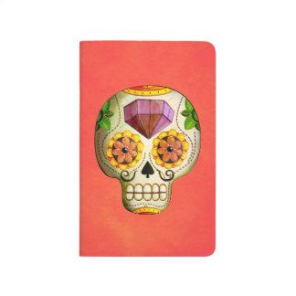 Dia de Los Muertos Mexican Sugar Skull Journals