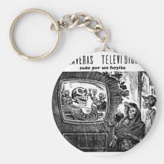 Día de los muertos, México. Circa 1949 Llavero Personalizado
