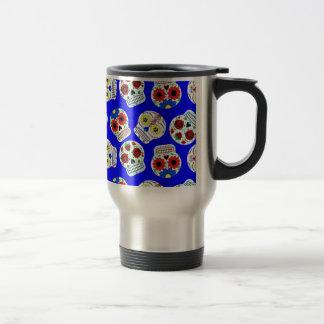 dia de los muertos coffee mugs
