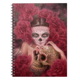 Dia de los Muertos Notebook Libreta
