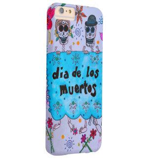 DIA DE LOS MUERTOS NOVIOS COUPLE WEDDING BARELY THERE iPhone 6 PLUS CASE