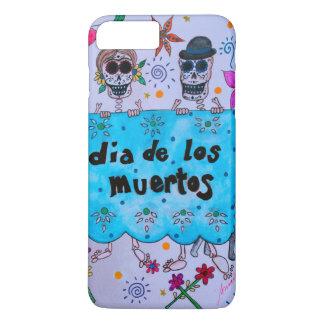 DIA DE LOS MUERTOS NOVIOS COUPLE WEDDING iPhone 7 PLUS CASE