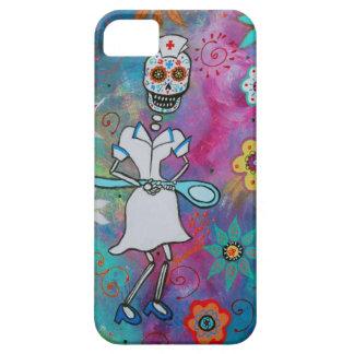 DIA DE LOS MUERTOS NURSE iPhone SE/5/5s CASE