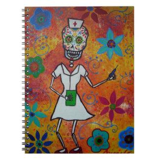 Dia de los Muertos NURSE Notebook