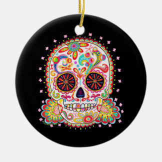 Dia de los Muertos Ornament Adorno De Navidad
