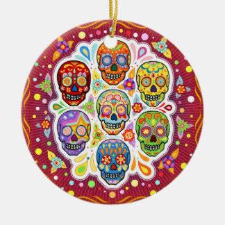 Dia de los Muertos Ornament Ornamentos De Navidad