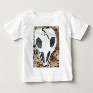dia de los muertos painted skull baby T-Shirt