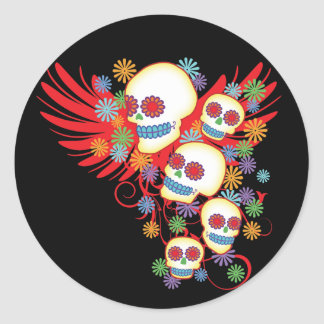 Dia de los Muertos Pegatinas
