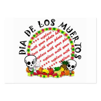 DIA DE LOS MUERTOS Photo Frame Template Business Card