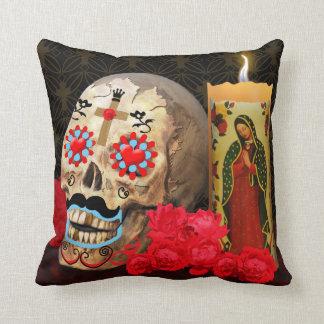 Dia de los Muertos Pillow Cojines