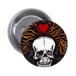 Día de los Muertos Pin Redondo 5 Cm