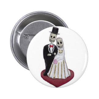 Dia de los Muertos Pinback Button