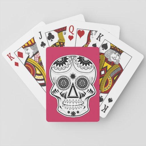 """""""Dia de Los Muertos"""" Playing Cards"""