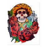 dia de los muertos post cards
