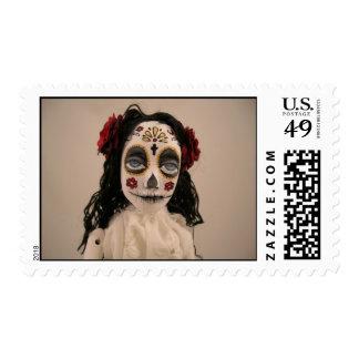 Día de los Muertos Postage Stamp