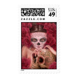 Dia de los Muertos Postage Stamp