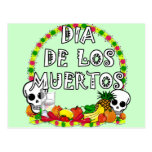 Dia De Los Muertos Postales