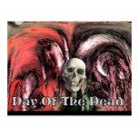 Día de los muertos postales