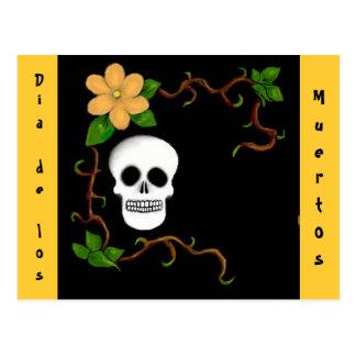 Dia de los Muertos Postcard Postal