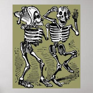 Día de los muertos póster