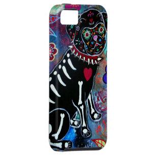 DIA DE LOS MUERTOS PUG iPhone SE/5/5s CASE