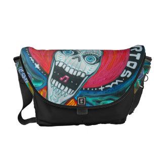 Dia De Los Muertos Rickshaw Messenger Bag