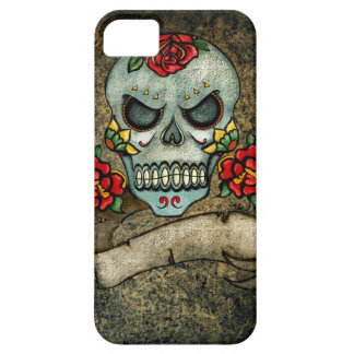 Dia De Los Muertos Rose Sugar Skull iPhone SE/5/5s Case