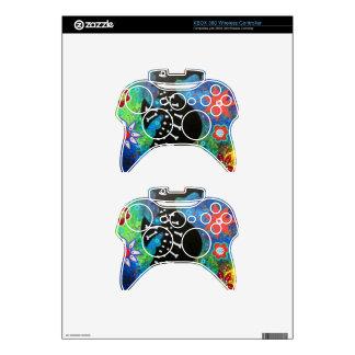 Dia de los Muertos Seahorse Mando Xbox 360 Calcomanía