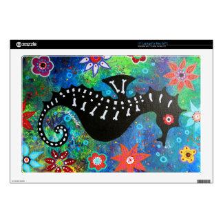 Dia de los Muertos Seahorse Portátil 43,2cm Skins