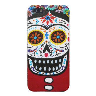Dia de los Muertos Senorita Case For iPhone SE/5/5s