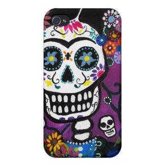 Dia de los Muertos Senorita Cases For iPhone 4