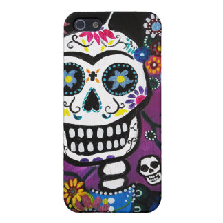 Dia de los Muertos Senorita Cover For iPhone 5