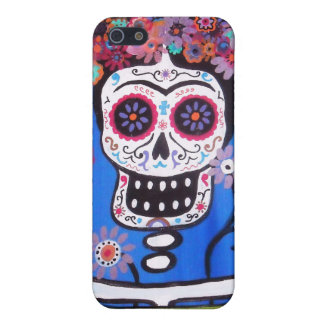 Dia de los Muertos Senorita iPhone SE/5/5s Case