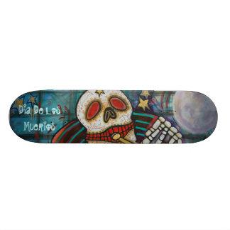 Dia De Los Muertos Skateboard Tabla De Patinar