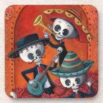 artsprojekt, skeleton, halloween, day of the dead, sugar skull, dia de muertos, dia de los muertos, mariachi, day of the dead art, dia de los muertos art, mexican skeleton, musician, mexico, mexican, mexican musician, skull, calavera, mexican folk, dia de los muertos gift, dia de los muertos present, sugar skulls, dia de muertos pictures, sugar skull art, dia de los muertos skeletons, dia de los muertos artwork, [[missing key: type_fuji_coaste]] com design gráfico personalizado