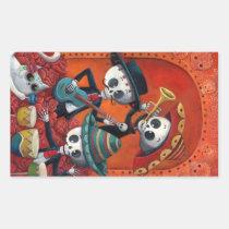 artsprojekt, skeleton, halloween, day of the dead, sugar skull, dia de muertos, dia de los muertos, mariachi, day of the dead art, dia de los muertos art, mexican skeleton, musician, mexico, mexican, mexican musician, skull, calavera, dia de los muertos gift, dia de los muertos present, sugar skulls, dia de muertos pictures, sugar skull art, dia de los muertos skeletons, dia de los muertos artwork, day of the dead stickers, dia de los muertos stickers, skeleton stickers, Sticker with custom graphic design