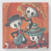 artsprojekt, skeleton, halloween, day of the dead, sugar skull, dia de muertos, dia de los muertos, mariachi, day of the dead art, dia de los muertos art, mexican skeleton, musician, mexico, mexican, mexican musician, skull, calavera, mexican folk, dia de los muertos gift, dia de los muertos present, sugar skulls, dia de muertos pictures, sugar skull art, dia de los muertos skeletons, dia de los muertos artwork, [[missing key: type_giftstone_coaste]] com design gráfico personalizado