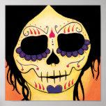 Dia de los Muertos Skeletons Emma Print