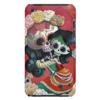 Dia de Los Muertos Skeletons Mother and Daughter iPod Case-Mate Case