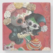 artsprojekt, mother's day, skeleton, mother, daughter, halloween, sugar skull, dia de los muertos, mothers day gifts, sugar skulls, dia de muertos, catrina, skull, day of the dead, cute, cute skeleton, calavera, candy skull, mom, mum, mexico, mexican skeleton, mexican, gifts for mom, mothers day gift ideas, gift ideas for mom, gifts for mum, mothers day gift, presents for mum, birthday gifts for mom, day of the dead skull, mexican day of the dead, mothers and daughters, presents for mom, best gifts for mom, mexican sugar skull, [[missing key: type_giftstone_coaste]] com design gráfico personalizado
