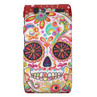 Dia de los Muertos Skull Motorola Droid RAZR Case