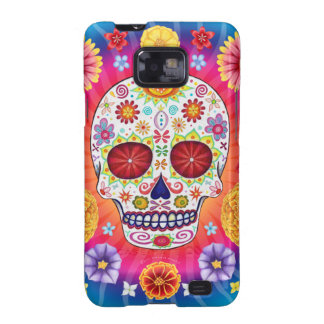 Dia de los Muertos Skull Samsung Galaxy S2 Case