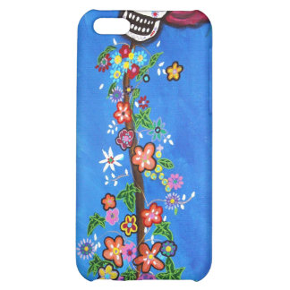 Dia de Los Muertos Skulls Case For iPhone 5C