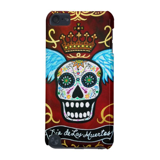 Dia de los Muertos skulls iPod Touch (5th Generation) Cover