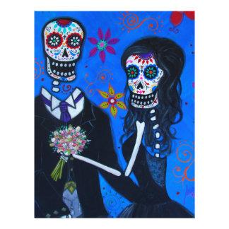 Dia de los Muertos Special Wedding Letterhead
